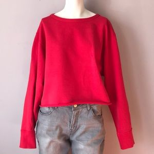 Rag & Bone Cropped Sweater EUC
